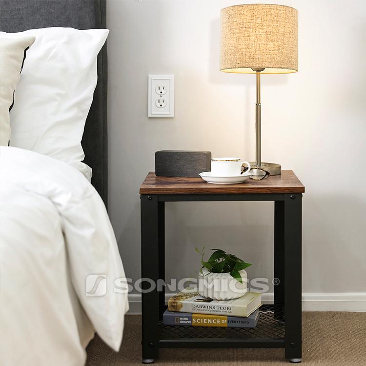 Songmics Let41x Beistelltisch Metallbeine Für Wohnzimmer Schlafzimmer  Beistelltisch - Buy Beistelltisch Beistelltisch,Sofa Tisch Product on ...