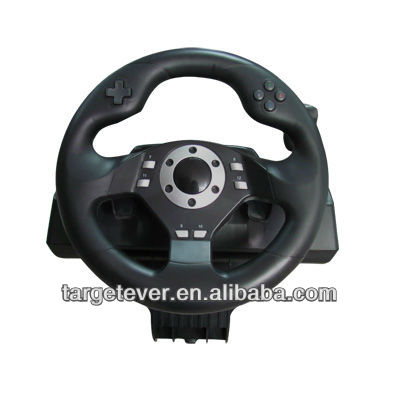 For PS3/PS2/PC/XBOX360 Racing Wheel with vibration