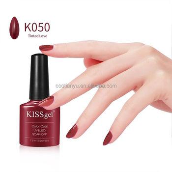 Cco 7 3ml Soak Off Uv Gel Nail Polish Private Label Kiss Gel Color