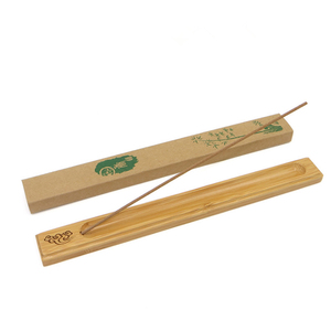 Natural Bamboo Incense Stick Holder Ash Catcher Incense Burner Holder for Home Decoration Incense Holder