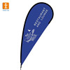 Printed Type and Aluminium Flagpole Material beach flag