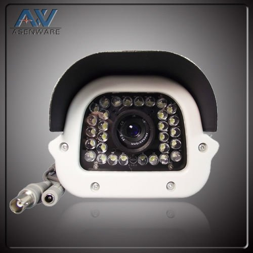 surveillance equipment 80m long IR distance cctv bullet proof camera