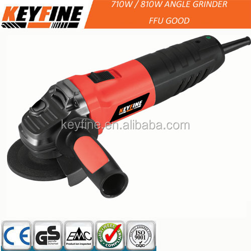 KEYFINE hardware tools with high performance motor for Angle grinder