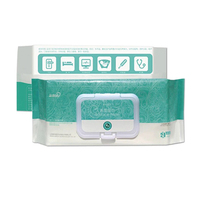 OEM Hospital Medical Antibacterial Wet Wipes Disinfectant Cleaning Wet Wipes