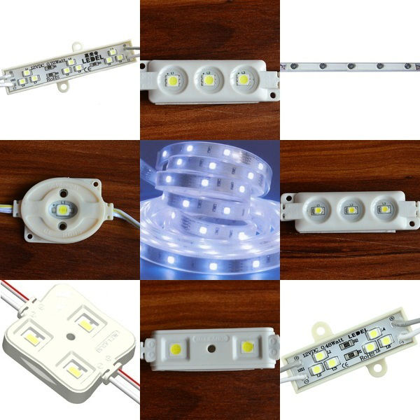 ce rohs compliant and ul approved 12V 0.72Watt 66 lm, IP65 led module lights for channel letters and box signs