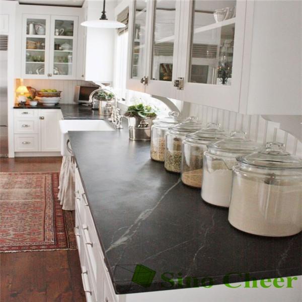 Black Marble Kitchen Countertop