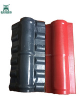 PVC Roofing Sheet ASA/PVC Resin Roofing Tile Ridge Tile