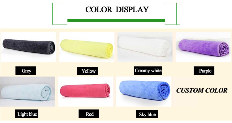 Professional design microfiber sports towel
