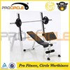 Crossfit Stainless Steel Gym Equipment Workout Bench
