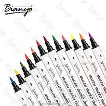 China wholesale High Quality 80 Colors dual tip brush pens