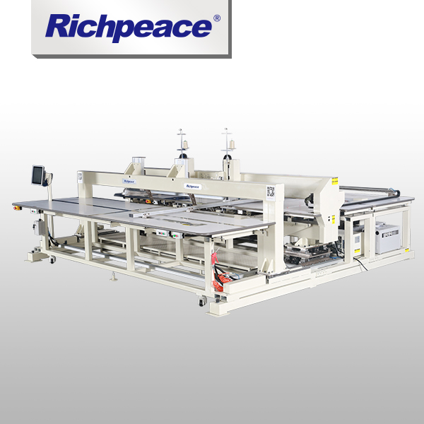 High-effiency Richpeace Automatic Large Area Bar Tacking Machine (Two Heads)