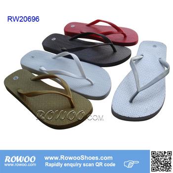 a4cf593b807954 Plain Gold Silver flip flops ladies Slipper Women Flip flops Walker Shoes