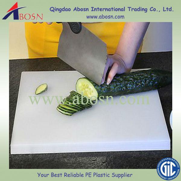 Round Kitchen Chopping Blocks Plastic Cutting Board Pvc Hdpe