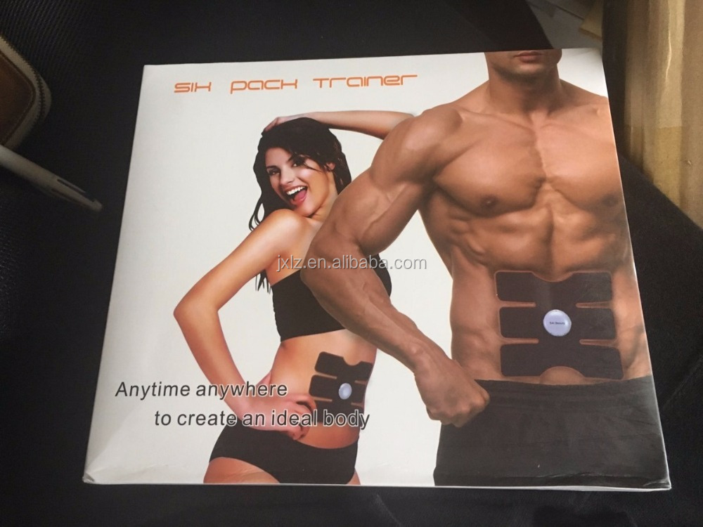 New items six pack trainer EMS belt Electronic waist massager