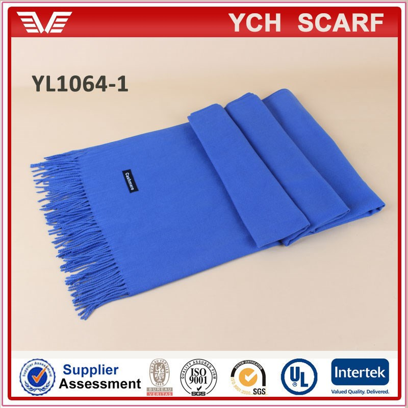 Alibaba verified manufacturer winter pashmina scarf, cashmere scarf