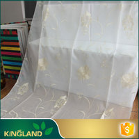 KingLand Finest quality Customize poly linen fabric