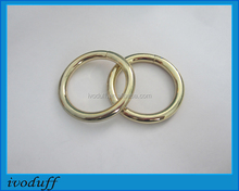 Shiny Metal O ring/38mm Zinc alloy O ring for Handbag