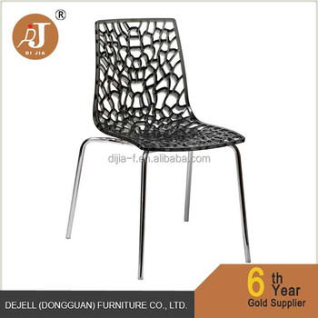 Modern Crystal Transparent Polycarbonate Clear Chair