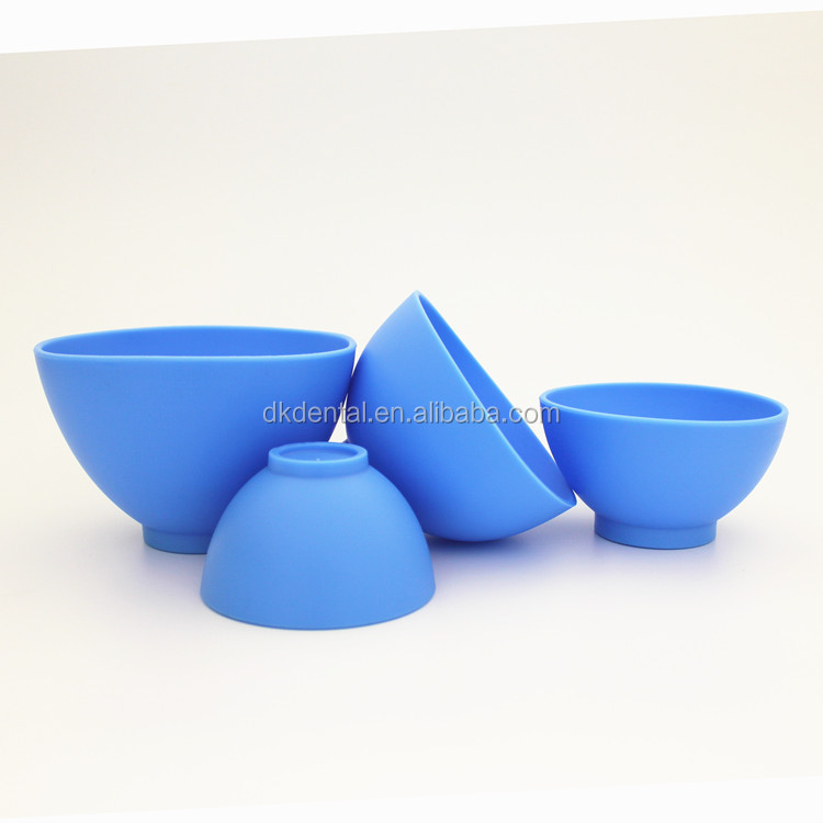 Hot sale high quality dental silicone rubber mixing bowls