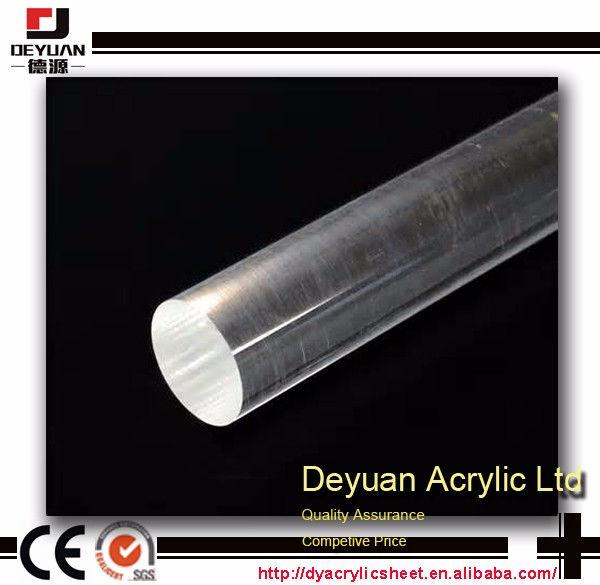 Color Acrylic Rod For Advertising Led Lighting Decoration
