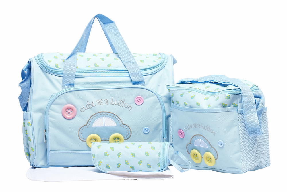 2015 Hot 4pcs/set Diaper Bags For Baby,Waterproof Mummy Bag Baby Nappy Bag,Fashion Mummy Bag