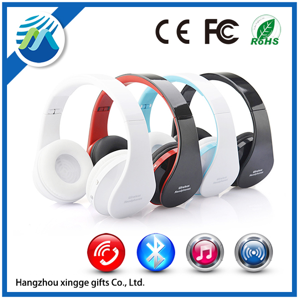 Foldable Stereo Earphone Headphones Wireless <strong>Bluetooth</strong>