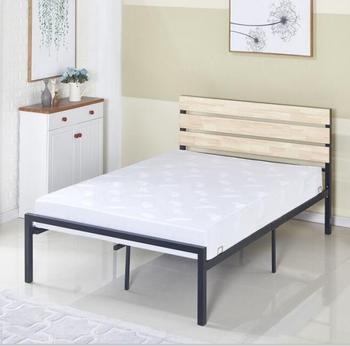 Matratze Fundament Aus Queen Size Metall Und Holz Buy Metall Plattform Bett Holz Lamellen Unterstutzung Bett Franzosisches Bett Hochbett Product On
