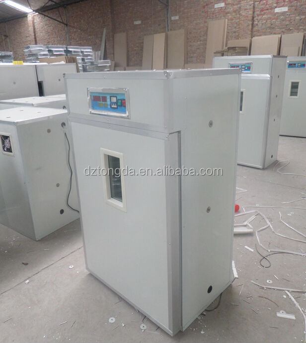 Commercial chicken incubator fully automatic digital thermostat controlled computer with free spare parts