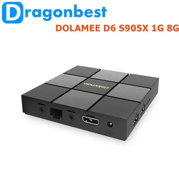 New Product Dolamee D6 Amlogic S905x 1g 8g Mini Pc Android Ott User Manual  Tv Box Android 6 0 - Buy Mini Pc Android,Media Player Smart Tv Box,Live Tv