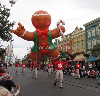 Hot Christmas Decoration Giant Flying Gingerbread Man Christmas Inflatable For Parade Buy Gingerbread Man Christmas Inflatable Giant Gingerbread
