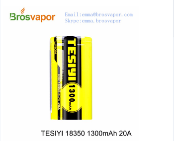 18350 ICR TESIYI battery with cheap price