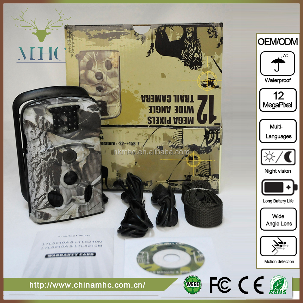 Solar Panel Support With Long Standby Time Scouting Trail Camera/Wildlife Trail Camera/Digital Trail Camera