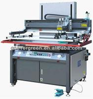 cardboard, glass PVC silk screen printer, factory low price silk screen print machine