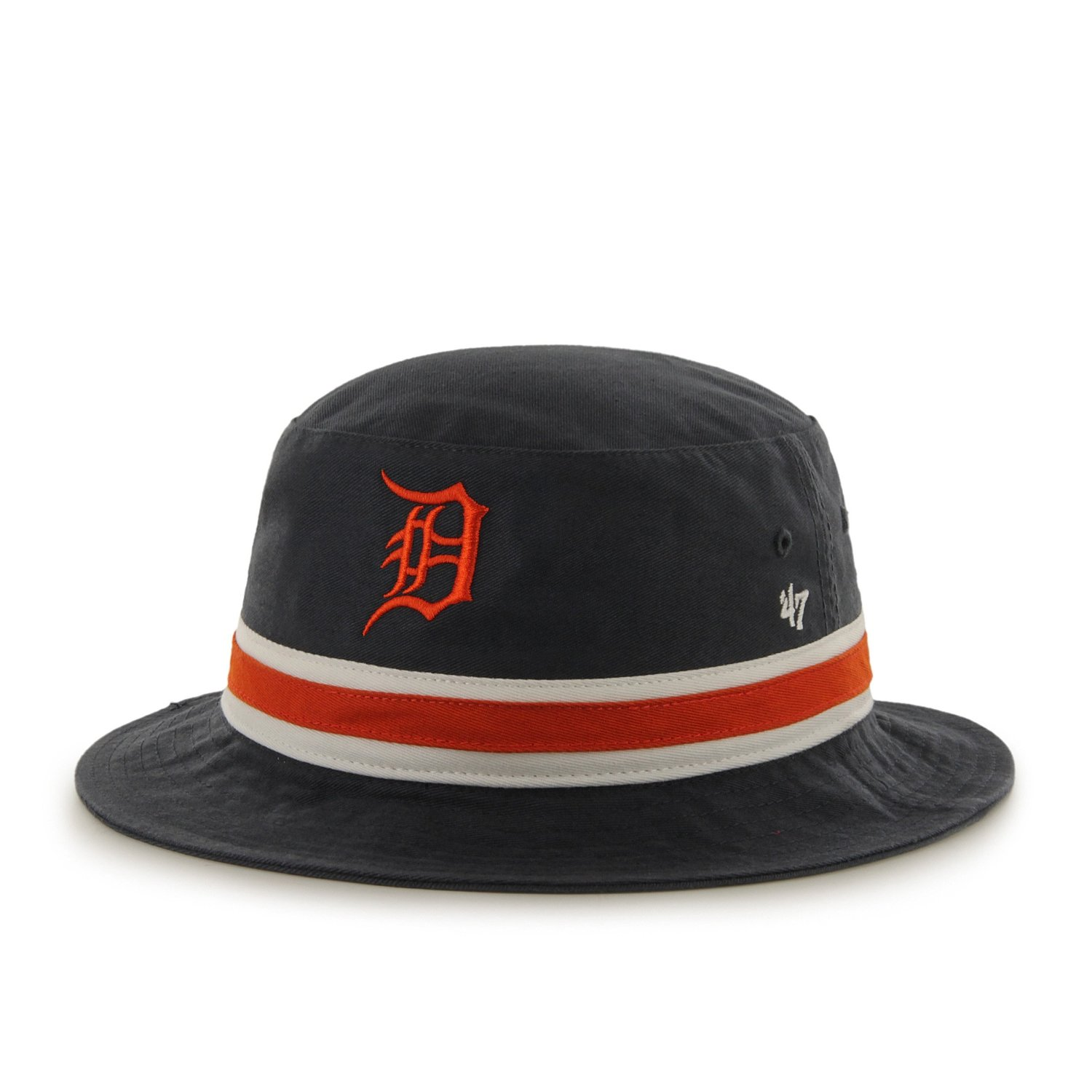 47 Brand Striped Bucket Hat - MLB Gilligan Fishing Cap