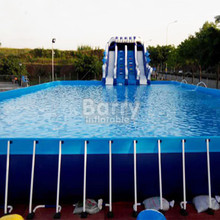 outdoor Funny metal frame pool folding swimming pool price