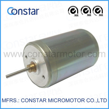 22mm 5 Phase 6v Rare Earth Permanent Magnet Brush Dc Motor