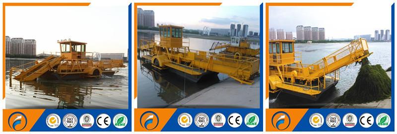 China Qingzhou Dongfang Water Hyacinth Harvesting Machine & Water ...