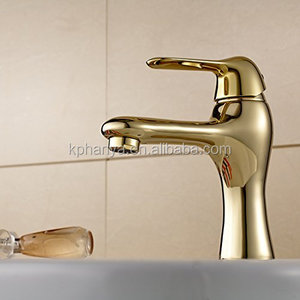 Brass Bathroom Sink Faucet Vessel Lavatory One Hole/Handle Mixers Tap