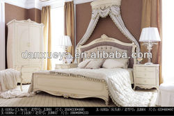 danxueya classic italian provincial bedroom furniture set/bedroom set luxurious/teak wood bedroom set