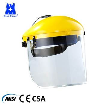 Industrial protective custom safety face shield