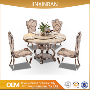 Hot sale 8 seater luxury banquet rotating round table