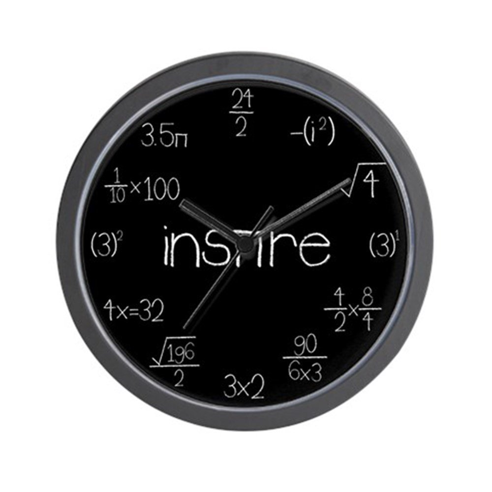 Buy Cafepress Math Clocks Unique Decorative 10 Wall Clock In
