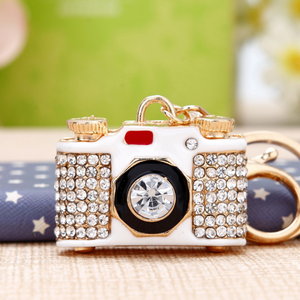 Women mini camera keychain YS276 003