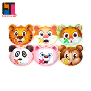 promotion plastic custom mini educational puzzle