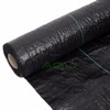 Commercial grade weed barrier landscape fabric