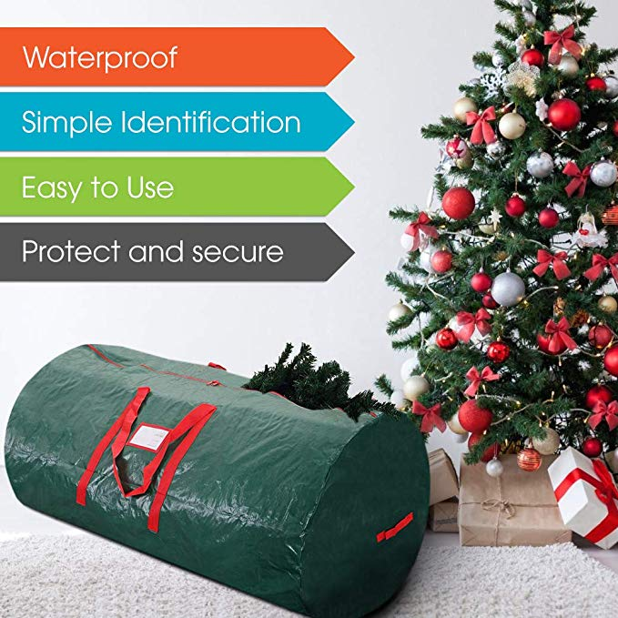 2019 Hot Christmas Large Containers Artificial Xmas Tree Perfect Storage Bag with Handles