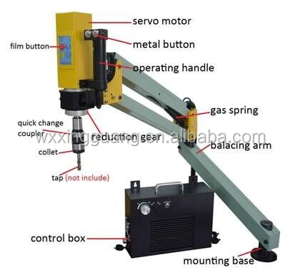 Tapping from M5-M20,Powerful electric tapping machine XG-D5-20