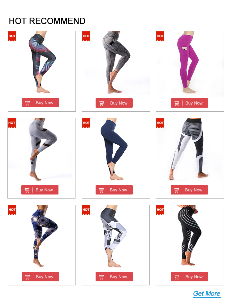 Fashion style casual black tights woman leggings fitness  printing ladies custom bulk leggings