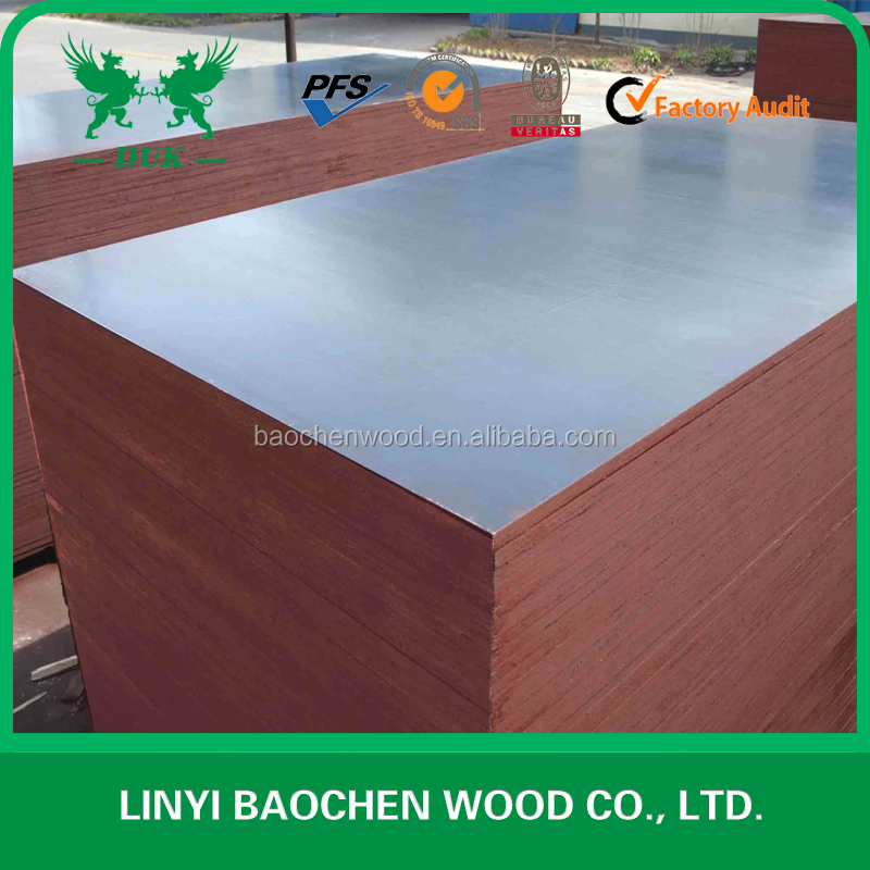 construction grade brown film faced plywood/shuttering plywood/plywood for Vietnam
