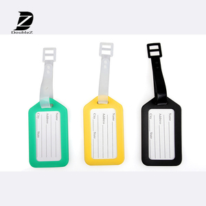 Eco-friendly Mixed Design Silicone Luggage Tag